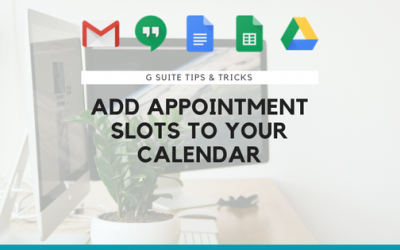 Add Appointment Slots to Your Google Calendar