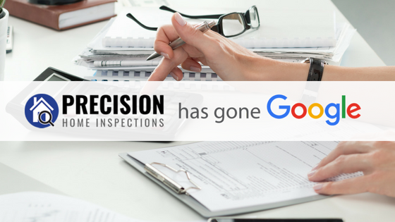 Precision Home Inspections Has Gone Google! Switch to G Suite