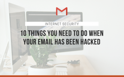 What to do when your email has been hacked